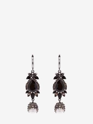Alexander McQueen Jeweled Earrings