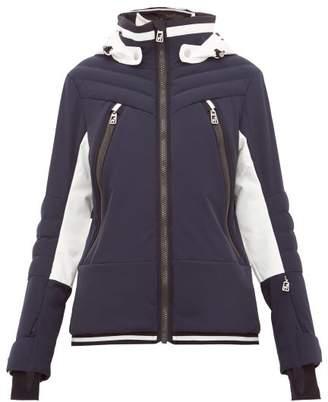 Toni Sailer Cosima Colour Block Soft Shell Ski Jacket - Womens - Navy