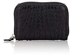 Barneys New York Men's Zip-Around Wallet-Black Matte