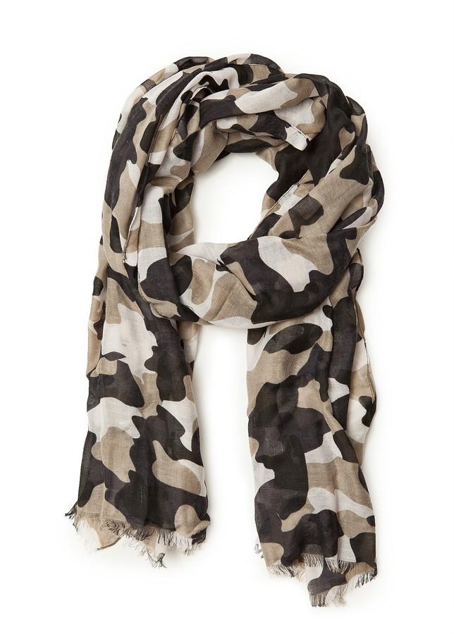 MANGO TOUCH - Camo-print foulard