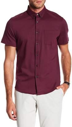 Perry Ellis Oxford Knit Button Down Shirt