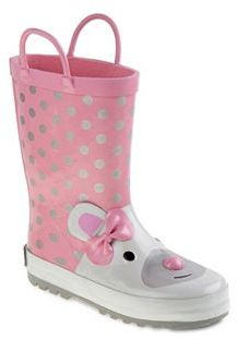 Laura Ashley Toddler Girls' Waterproof Rain Boots $38.99 thestylecure.com