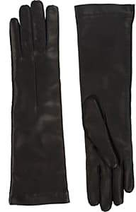 Barneys New York Women's Cashmere-Lined Long Gloves - Black