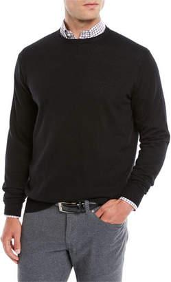Peter Millar Men's Crown Soft Wool/Silk Crewneck Sweater
