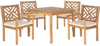 Safavieh Bradbury Indoor / Outdoor Dining Table & Chair 5-piece Set