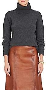 Prada Women's Belted-Cuff Wool-Cashmere Turtleneck Sweater - Grey