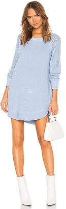 525 America Raglan Sleeve Sweater Dress