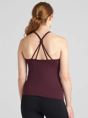 Gap GapFit High Neck Strappy Shelf Tank Top