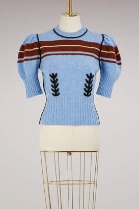Miu Miu Short sleeves wool sweater