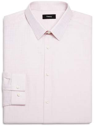 Theory Illusion Textured Slim Fit Dress Shirt