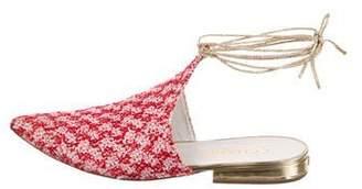 Chanel Paris-Dubai Embellished Mules