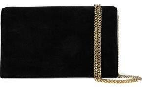 Diane von Furstenberg Leather And Suede Shoulder Bag