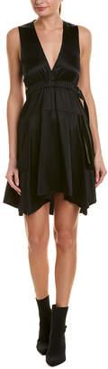 A.L.C. Nahia Silk-Blend A-Line Dress