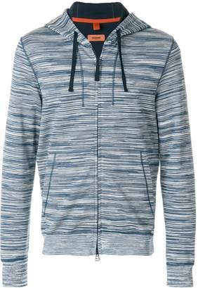 Missoni patterned zip hoodie
