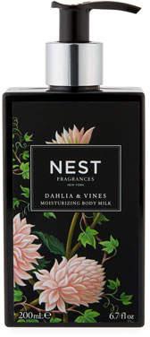 NEST Fragrances Dahlia & Vines Body Milk, 6.7 fl. oz. / 200ml