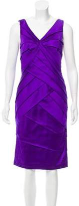 Tadashi Shoji Satin Sheath Dress