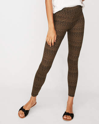 Express One Eleven Print Supersoft Leggings