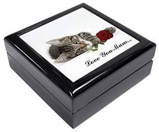 Kitten+Rose 'Love You Mum' Keepsake/Jewellery Box Christmas Gift