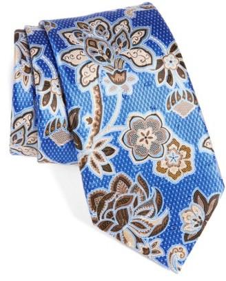 Men's Ermenegildo Zegna Floral Silk Tie $195 thestylecure.com