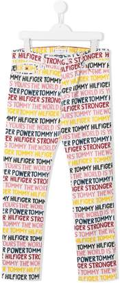Tommy Hilfiger (トミー ヒルフィガー) - Tommy Hilfiger Junior レタリング パンツ
