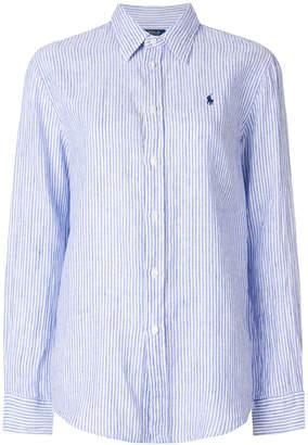 Polo Ralph Lauren loose-fit striped shirt