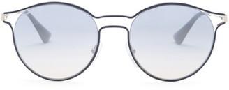 MIU MIU Women's Cinema Round Metal Frame Sunglasses $390 thestylecure.com