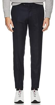 Marco Pescarolo Men's Cashmere Twill Trousers - Navy