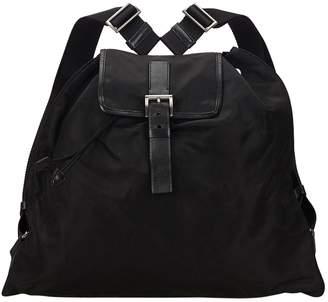 Prada Vintage Black Synthetic Backpacks