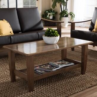 Baxton Studio Wholesale Interiors Coffee Table Wholesale Interiors