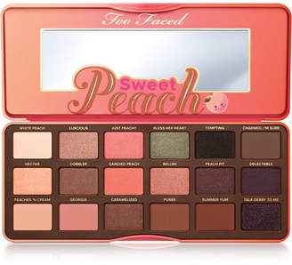 Too Faced Sweet Peach Eye Shadow Palette $49 thestylecure.com