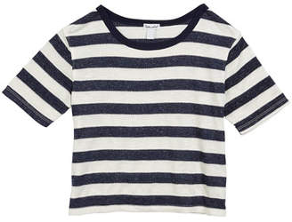 Splendid Studio Textured Jersey Stripe Top, Size 7-14