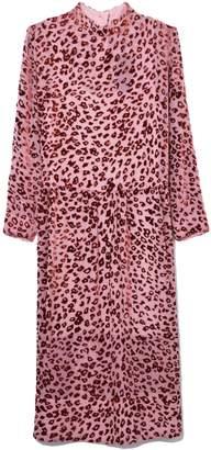 Rag & Bone Gia Dress in Pink/Rust