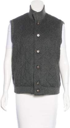 Loro Piana Quilted Cashmere Vest
