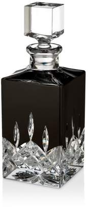 Waterford Lismore Black Square Decanter