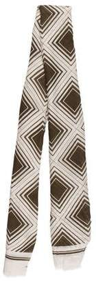 Anya Hindmarch Printed Cashmere-Blend Scarf