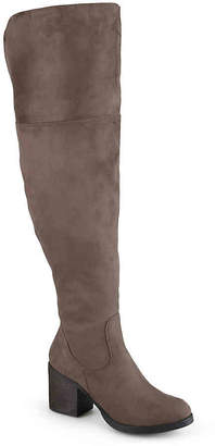 Journee Collection Sana Wide Calf Thigh High Boot - Women's