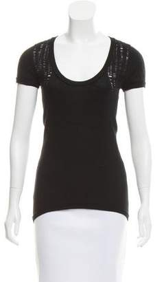 Helmut Lang Cashmere Distressed Top