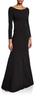 SOLACE London Perrine Long-Sleeve Cocktail Dress
