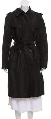 Dolce & Gabbana Linen Trench Coat