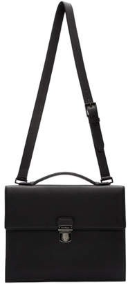 Salvatore Ferragamo Black Firenze Briefcase