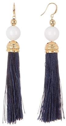 Trina Turk Bead in Bloom Tassel Drop Earrings