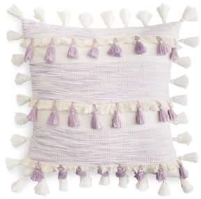 "Sky Space Dye Tassel Decorative Pillow, 20"" x 20"" - 100% Exclusive"