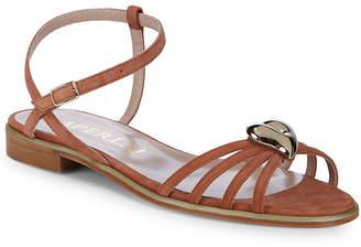 Aperlaï Brooch Ankle-Strap Sandal