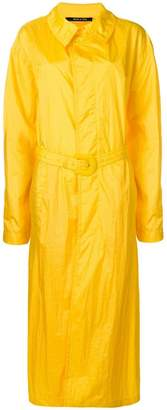 Maison Margiela long belted raincoat