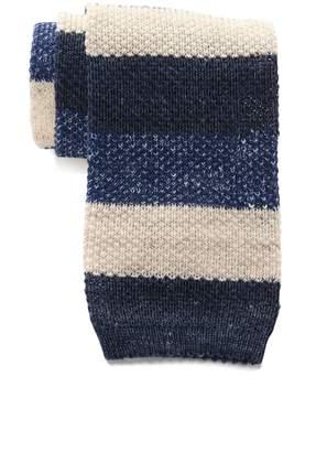 Thomas Pink Gentleman Stripe Knit Tie