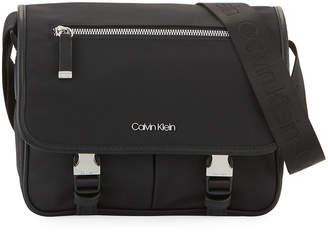 Iconic American Designer Nylon Crossbody Messenger Bag