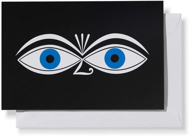 Greeting Cards, Eyes blue