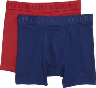 Polo Ralph Lauren 2-Pack Cotton & Modal Boxer Briefs