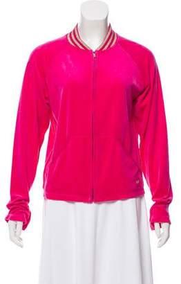 Sonia Rykiel Velour Track Jacket