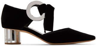 Proenza Schouler Black Mirror Spectra Heels